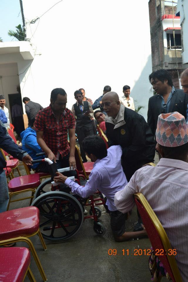 Wheel Chair Distribution Rc Kakarvitta 5